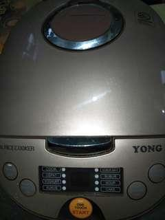 Ricecooker yongma one touch magic smart 2Lt