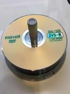 BN Maxell DVD R 120min/4.7GB 1-16x Spd Recordable