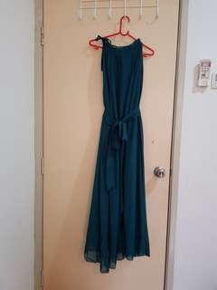 Dark Green dinner dress