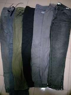 Rubber Long Pants