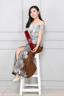 Kebaya modern sabrina rok slit