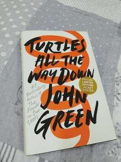 Turtles All The Way Down JOHN GREEN Limited Edition