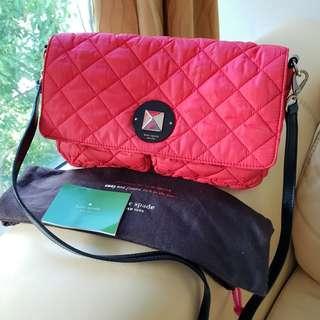 Kate Spade Red Sling Crossbody Bag