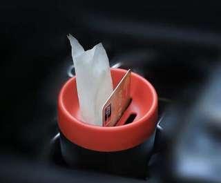 杯架式 垃圾桶紙巾盒散子盒