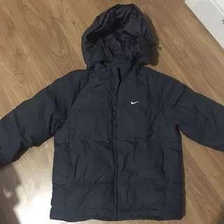 Nike Dark Blue Winter Puffy Jacket