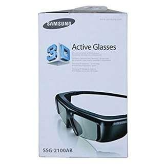 Samsung SSG-2100AB Battery 3-D Glasses - Black (Compatible with 2010 3D TVs)