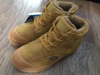 New kids winter boots with fleece