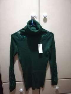 女裝樽領冷線衫