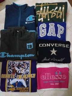 All branded sweatshirt/ Hoodie.