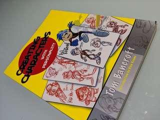 Creating characters with personality book by tom bancroft designers