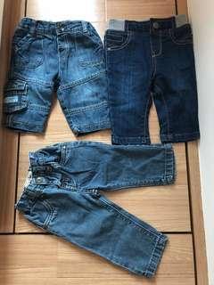 M&S/Next/Ted Baker Baby jean/BB牛仔褲