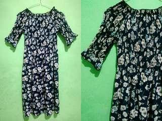 KOREAN DRESS FLOWER SUMMER