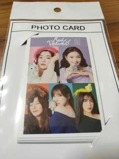 Red Velvet Photocard