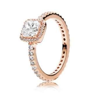 Timeless Elegance Ring - rose gold