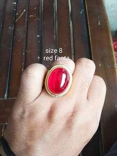 Stone red fanta