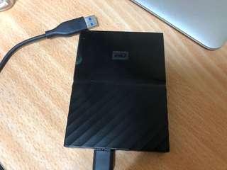 WD. MAC硬碟1TB