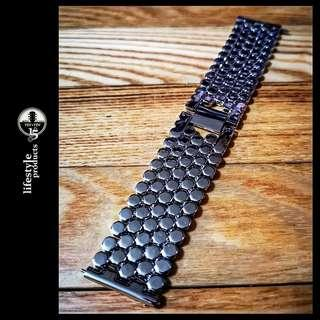 Unique design Stainless steel Watch Strap / Watchband *Wide 22mm*