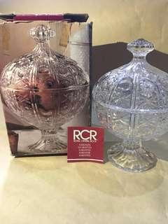 Tempat Permen CandyBox Kristal Merk Royal Crystal Rock Italy