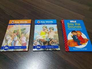 Ladybird Key Words Books. Have a Go and We have fun.