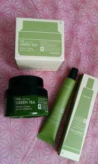 💕🌱Tonymoly 綠茶面霜及眼霜💕