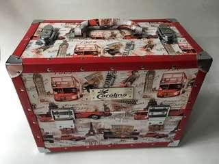 Beauty case big red