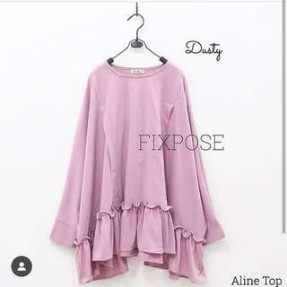 Aline Top Dusty pink by Fixpose