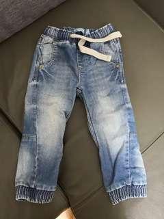 厚身牛仔褲