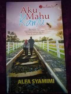 Malay Novel - Aku Mahu Kamu #MFEB20
