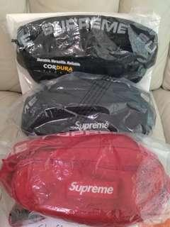 Supreme Waist Bag Black SS18 黑色 Nike Adidas Air Jordan Zeezy FOG Box