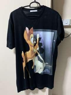 Givenchy Paris Bambi Print T-shirt
