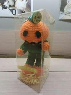 南瓜人手工針織娃娃