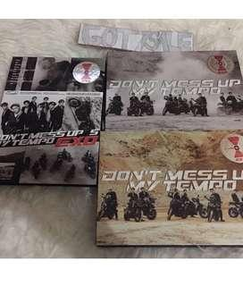 EXO  DONT MESS UP MY TEMPO ALBUM  SEALED