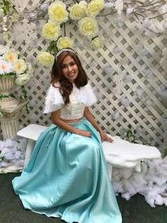 Two Piece Gown for Rent