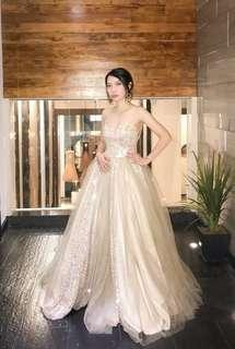 Apartment 8 custom made gown