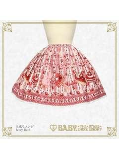 lolita baby the stars strawberry skirt SK 草莓 士多啤梨半裙