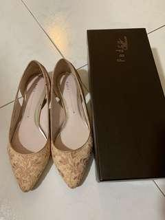 Pedro Lace Flats in Pink