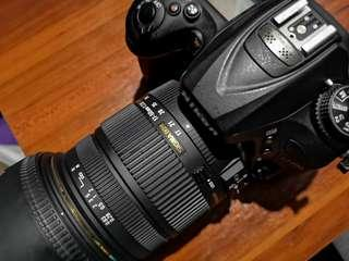 Nikon D7200 w/ Sigma 17-50mm 2.8 OS + Nikkor 50mm 1.8G