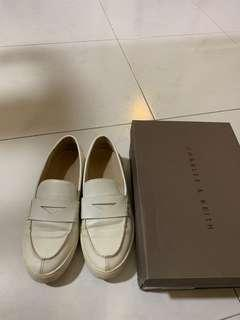 Charles & Keith White Sneakers