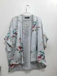 asos's Floral Satin Kimono