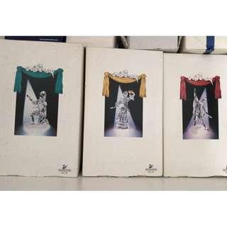 Swarovski Masquerade Trilogy Set 小丑年集 1999-2001