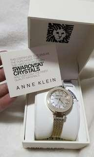 Original Anne Klein with swarovski crystals (gold)