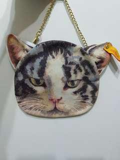 貓咪小手袋 Cat small pouch 手挽袋 手提袋