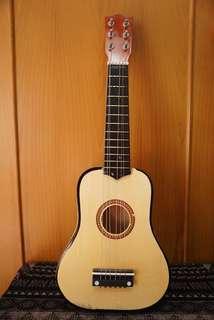 Gitar Mini mainan gitar kecil - fungsi sama dengan Gitar Normal