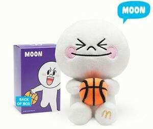 Line Moon Soft Toy