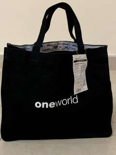 寰宇一家 環保袋 one world alliance tote bag CX Cathay Pacific