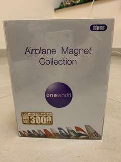 寰宇一家飛機磁石套裝 one world alliance airplane magnet CX