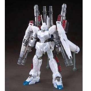 請看推廣優惠 Bandai 劇場限定 珍珠色 全新未砌 HG 1比144 全武裝獨角獸 RX-0 Unicorn FA Gundam UC 高達 2