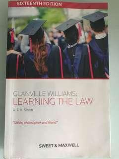 Learning the Law - Glanville