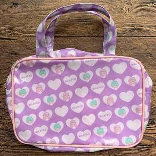 Little Twin Stars and Milkfed Japan Cosmetic Pouch