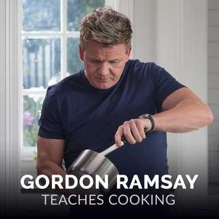 GORDON RAMSAY MASTERCLASS (WORTH $100++)